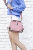 包包女22017夏季新款图丁包时尚百搭医生包手提包简约单肩斜挎包PD15