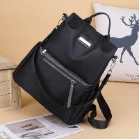新款韩版尼龙双肩包女背包学生书包大容量旅行包KP9039