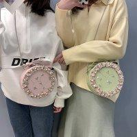 新款韩版仙女蕾丝小圆包可爱chic链条单肩斜挎包CY0067