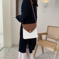 新款韩版百搭时尚单肩斜挎包撞色小方包AYL809