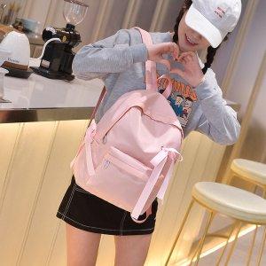 新款韩版中学生粉色双肩包背包女潮JC603